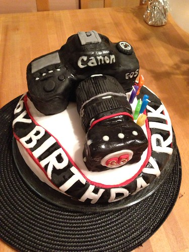 My Canon Birthday Cake The Lounge In Photography On The Net