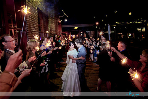 Katie & Adam, photo - Azul photography