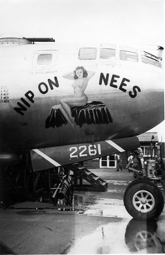 Boeing B-29A, 44-62261, Nip On Nees, 344th BS, 98th BW