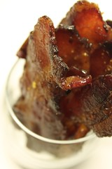 BACON CANDY ~ A SWEET and Savory Appetizer (Recipe on Blog, Baking is my Zen)