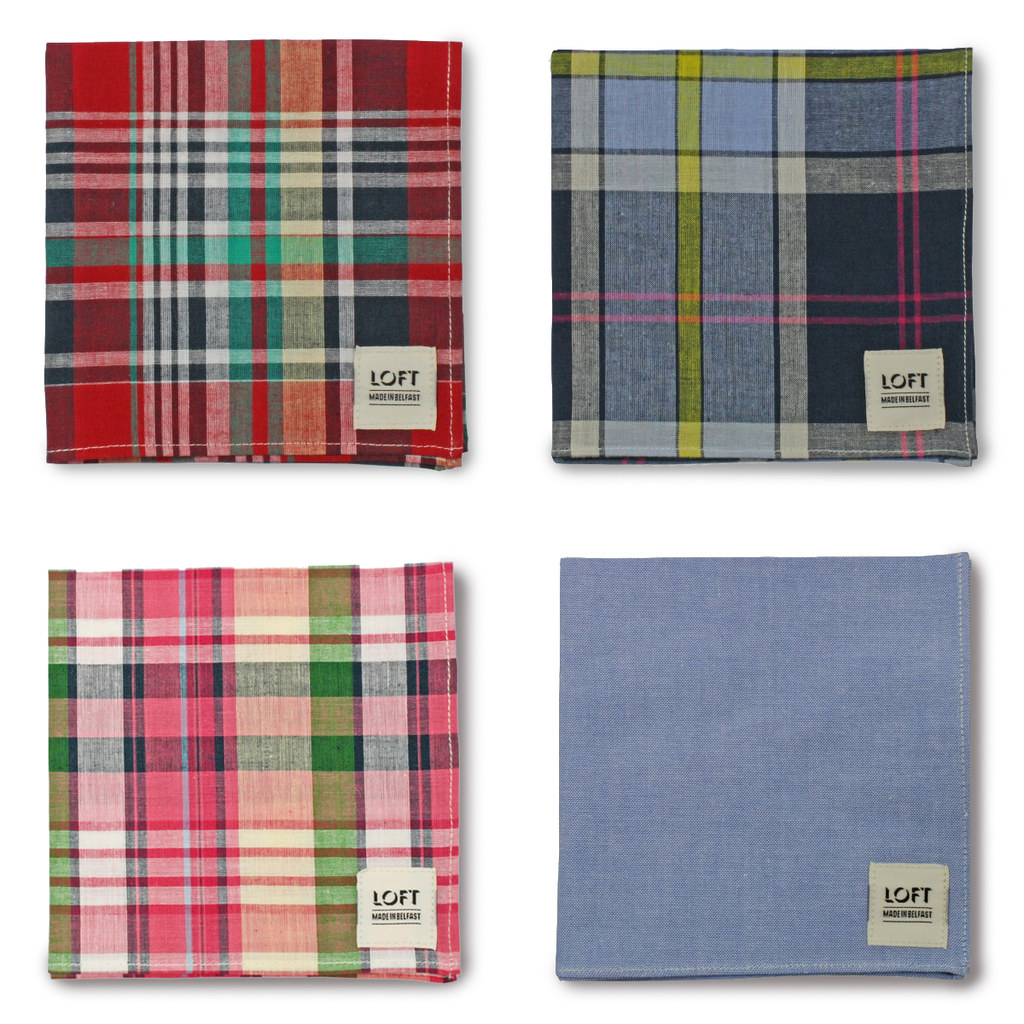 LOFT TRADING Pocket Square