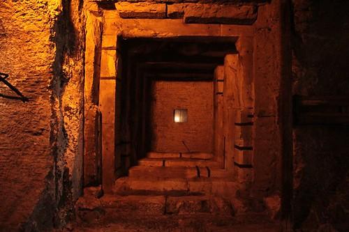 Castel Sant'Angelo: particolare della struttura antica