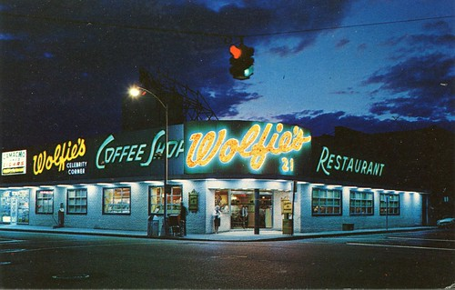 Wolfie's Restaurant, Miami Beach, Florida
