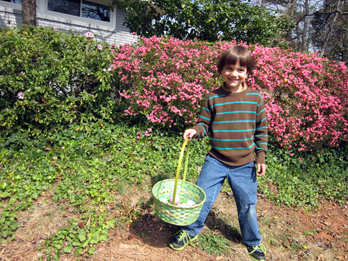 Liam on Easter