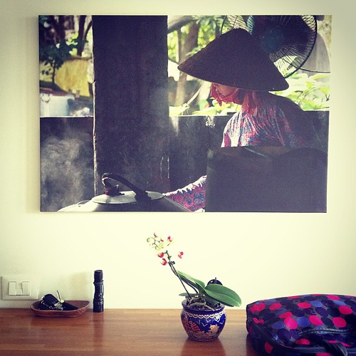 What do you think about it??? #myart #canvas #print #vietnam #photooftheday #elenamartinello by Elena Martinello