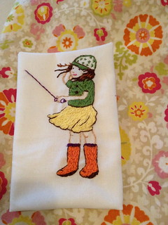 March Child Embroider