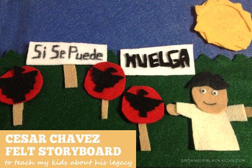 cesar chavez felt storyboard