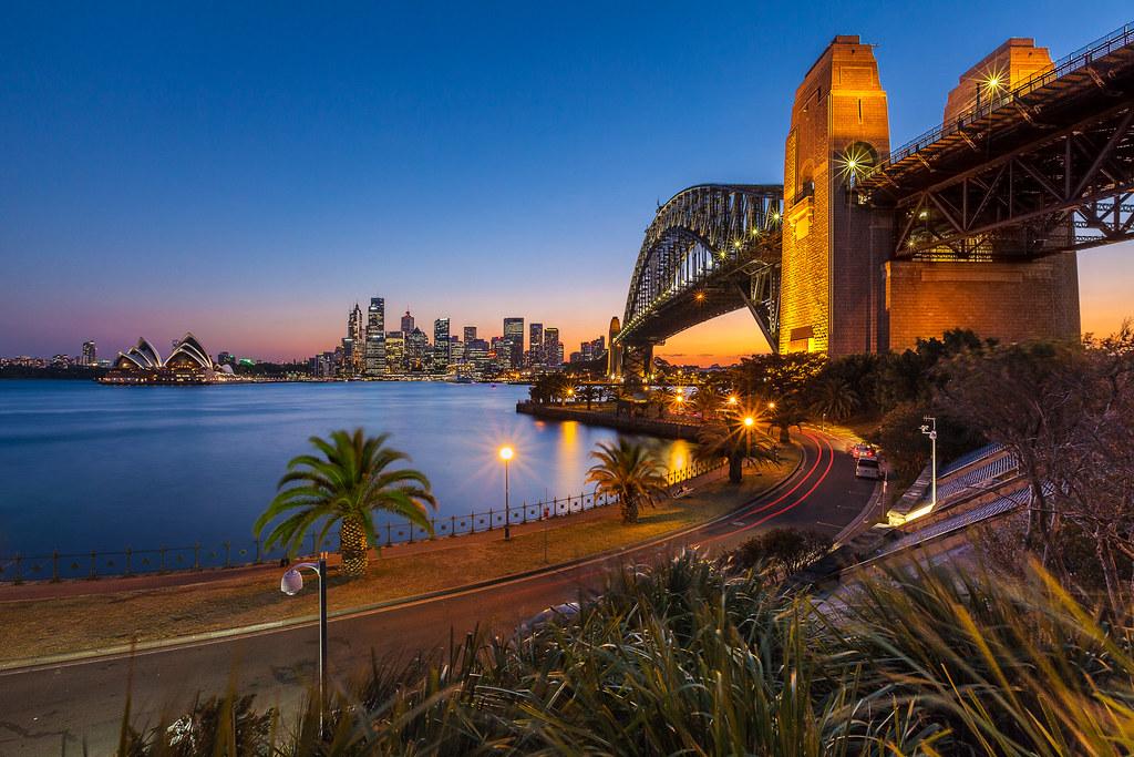 As the Sunsets - Sydney Australia