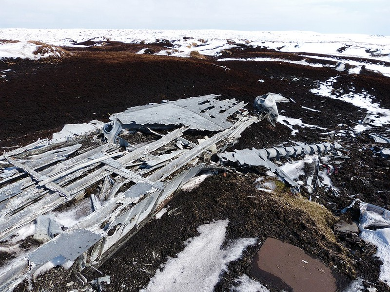 29482 - Overexposed Crash Site, Bleaklow