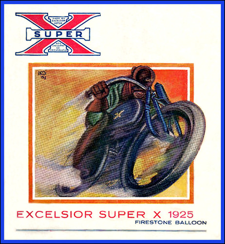 1925 Excelsior Super-X by bullittmcqueen