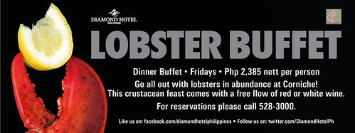 Diamond Hotel Lobster Buffet