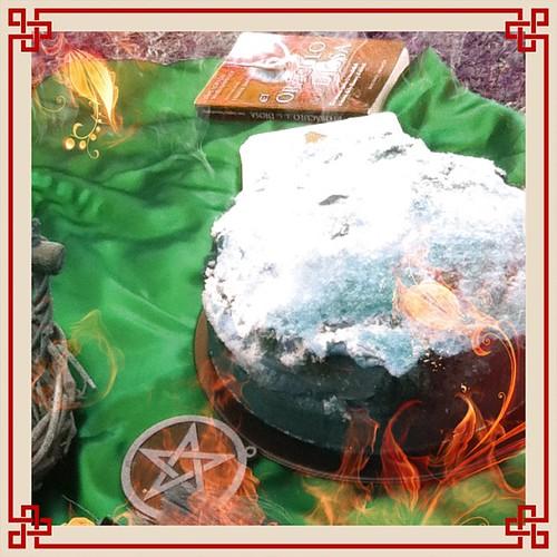 Pastel de manzana y avena de #mabon#wicca