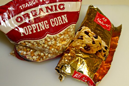 homemade covered popcorn