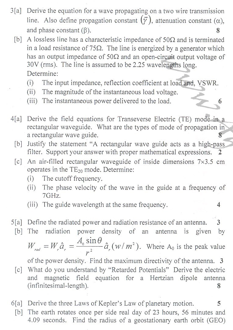 DTU Question Papers 2010 – 6 Semester - End Sem - IT-315