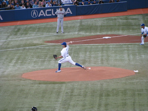 First Pitch - Opening Day - Toronto
