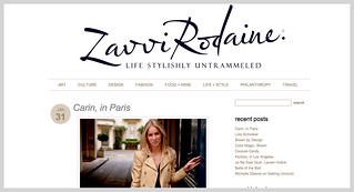 Interview with Carin Olsson (Paris in Four Months) on Zavvi Rodaine