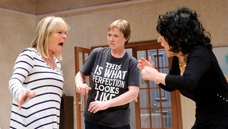 Linda Robson, Pauline Quirke and Lesley Joseph in the new stage show of Birds of a Feather.