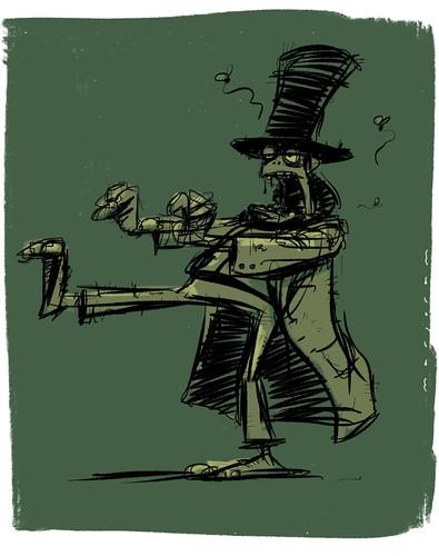 Isambard Zombie Brunel by Stefan Marjoram