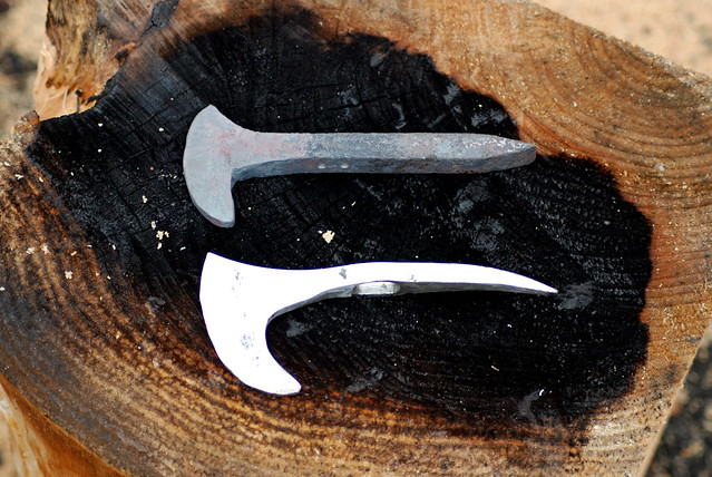 Karambit With Spike 400162760 further Alaska Railroad Guide additionally Where Is The Original Golden Spike besides Twisted Carbon Steel Railroad Spike Fixed Blade Knife furthermore Diesel Electric. on railroad spike