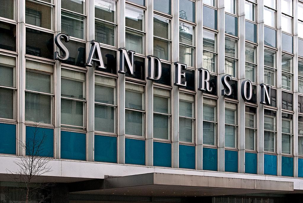 Sanderson Hotel, Berners Street, London