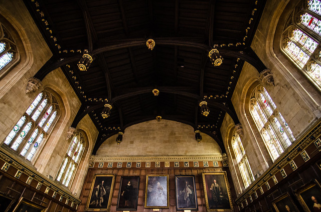 christ church oxford england united kingdom university dining hall harry potter