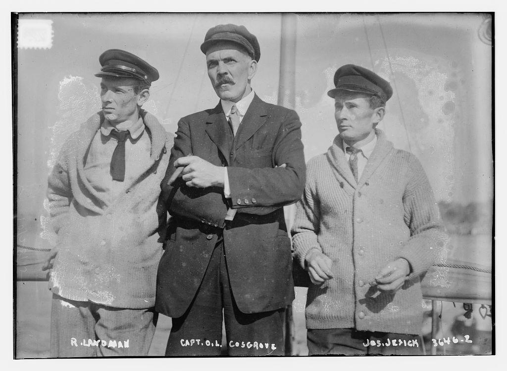 R. Landman, Capt. O. L. Cosgrove, Jos. Jesick  (LOC)