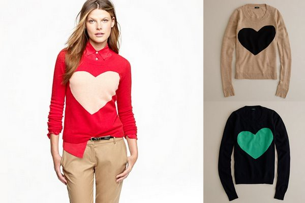 heart sweater-1