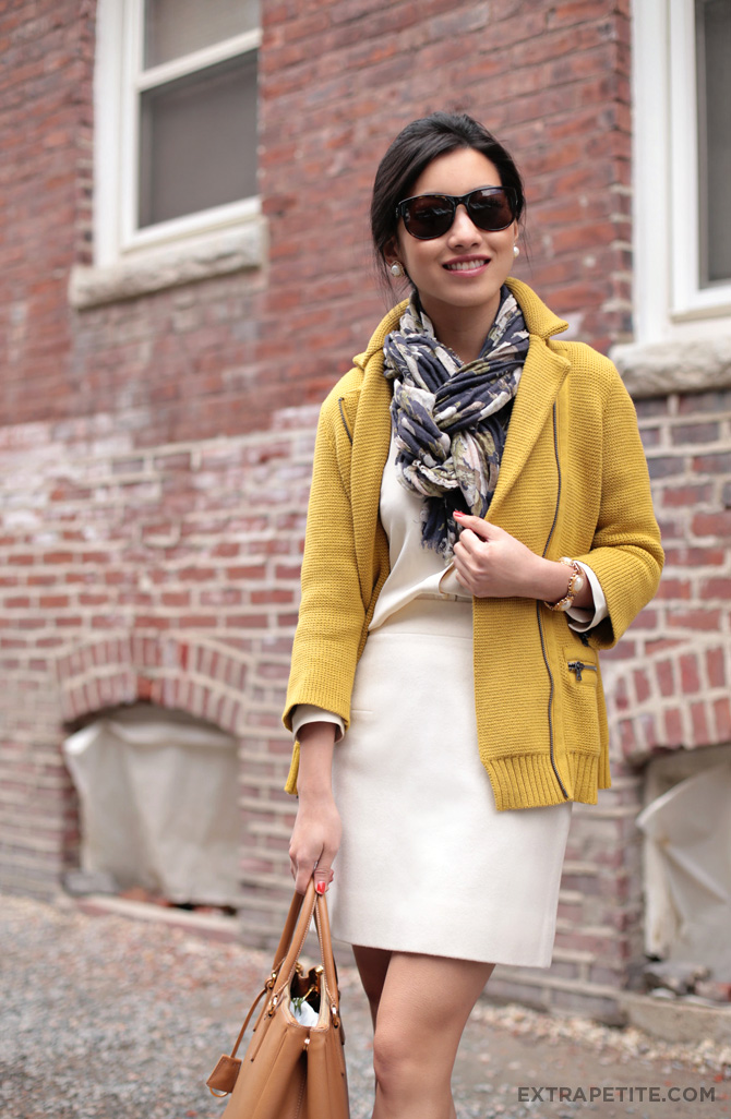 double ivory mustard cardigan4