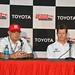 Mike Hull and Ryan Briscoe