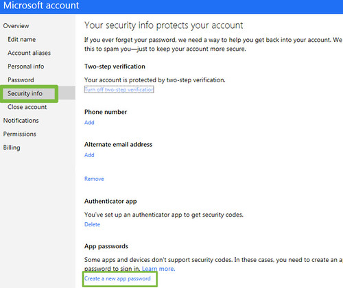 Using Microsoft Two-Factor Authentication with your Xbox LIVE