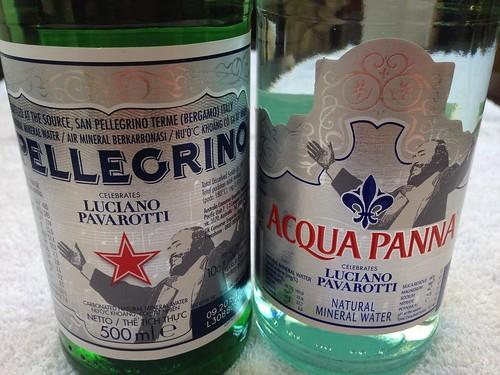 S.Pellegrino Celebrates Luciano Pavarotti (Acqua Panna too!)