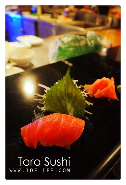 Toro sushi umaku