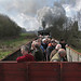 Railtours the old way by tarboat