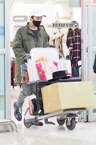 G-Dragon - Gimpo Airport - 02mar2015 - NoiizVip - 03