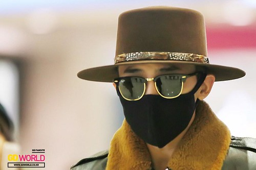 Big Bang - Incheon Airport - 31jan2015 - G-Dragon - GD World - 04