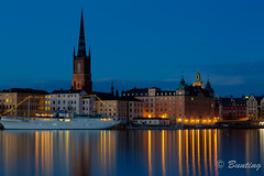 Gamla Stan during the blue hour