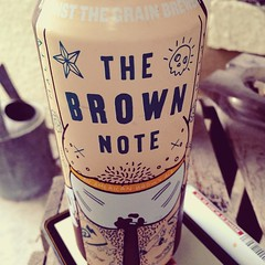 Time for a brown note after work. #thebrownnotebeer #thebrownnote #againstthegrainbrewery #beer