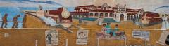 Train mural - Santa Fe's Railyard