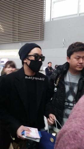 Big Bang - Incheon Airport - 21mar2015 - Seung Ri - wktjrqnwk12 - 09