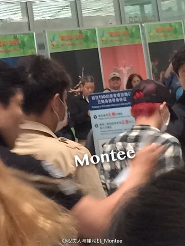 Big Bang - Beijing Airport - 07jun2015 - 权夫人与崔司机_Montee - 02