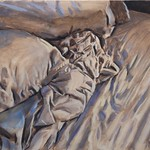 Bedding 2; oil on canvas, 22 x 28 in, 2016