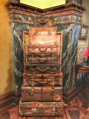 Suitcases from yesteryear