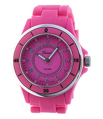 Your Fashion Jewellery - Bright Pink Fashion Watch