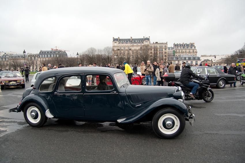 1954–57 Citroen Traction Avant Familiale