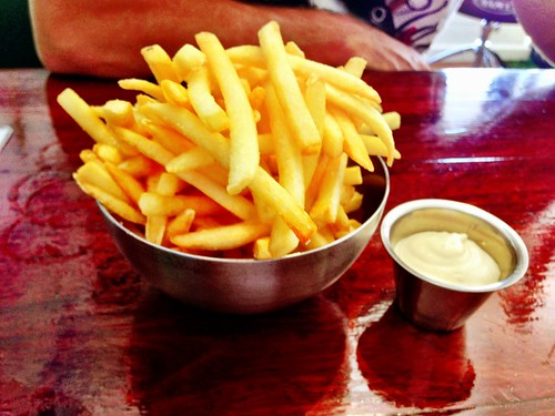 Fries at Run Amuk