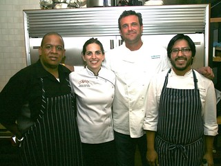 chefs todd richards, katie button, derek emerson & plinio sandalio