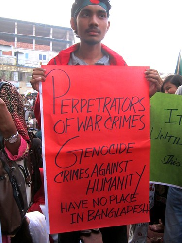 Perpetrators of War Crimes, Genocide, have no place in Bangladesh!