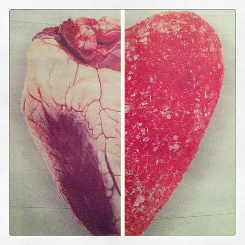 Får tips om gelehjärtan och lammhjärtan i @dagensnyheter. Mitt tips: ha hjärta.