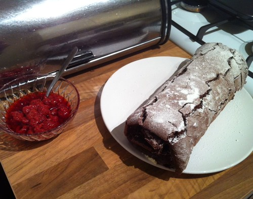 Chocolate roulade. #Success by benparkuk