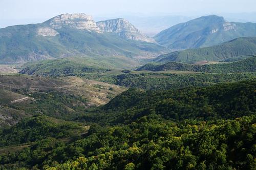 mountain mountains forest view state hill border azerbaijan hills armenia vista overlook preserve province armenian syunik shikahogh shikahoghstatepreserve